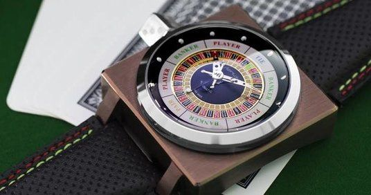 Azimuth Roulette watch front