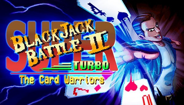 Cover of Blackjack Battle 2 Turbo The Card Warriors