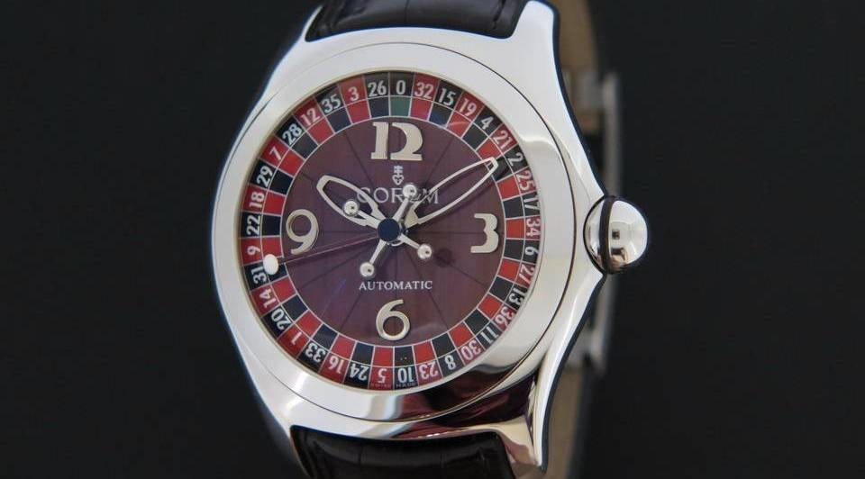 Corum Casino Bubble front side