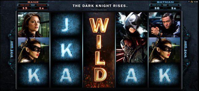 Screenshot of Batman slot
