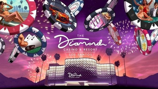 Diamond Casino & Resort art