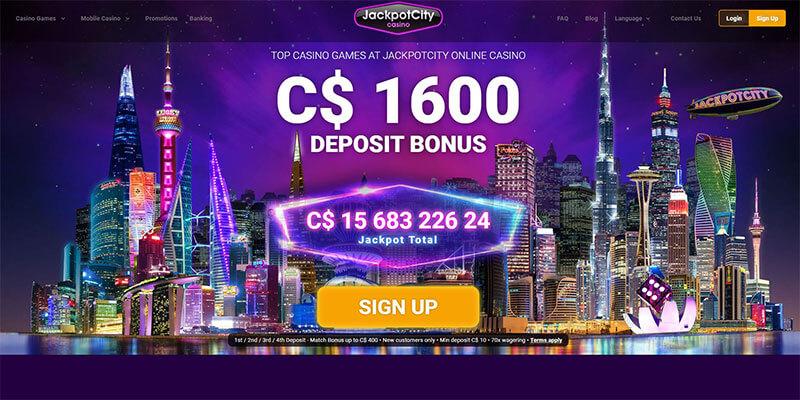 jackpotcity homepage