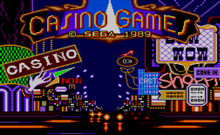 Memorable SEGA Casino Games – An Overview