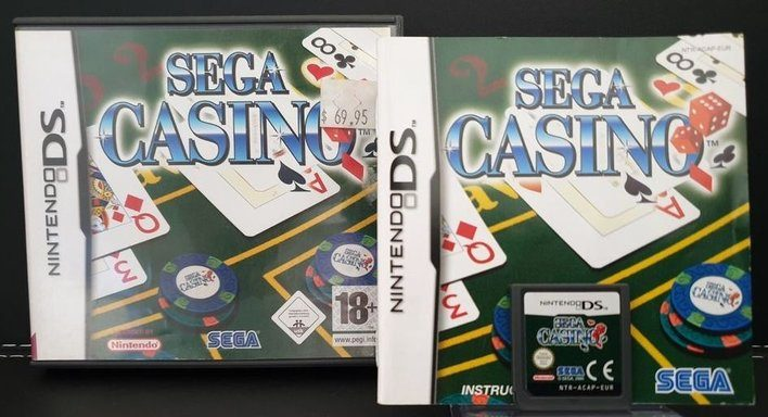 Sega Casino for Nintendo DS cover