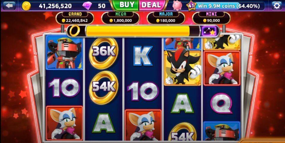 Sega Slots App in-game