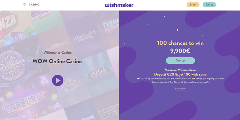 wishmaker homepage